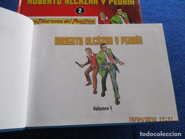 Libros de segunda mano: ROBERTO ALCÁZAR Y PEDRIN 4 Tomos Editorial Planeta DeAgostini 2010 - Foto 4 - 160680054