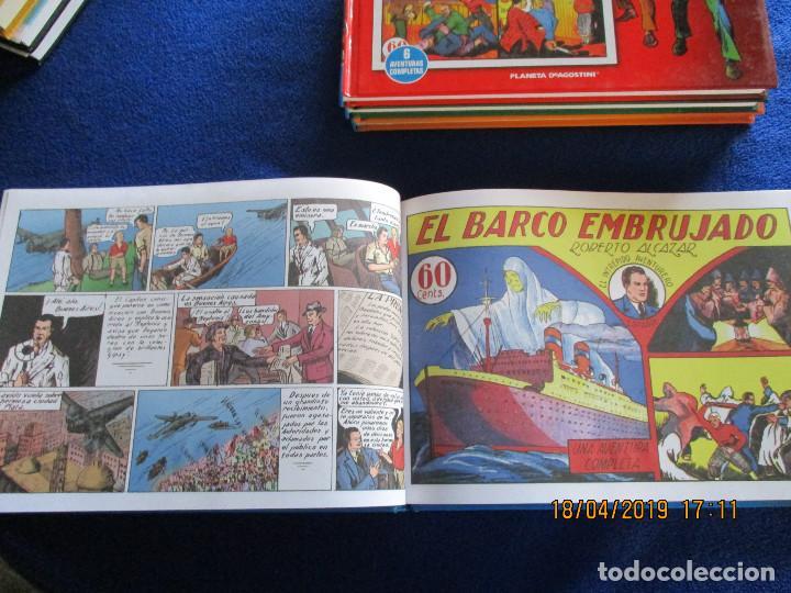Libros de segunda mano: ROBERTO ALCÁZAR Y PEDRIN 4 Tomos Editorial Planeta DeAgostini 2010 - Foto 6 - 160680054