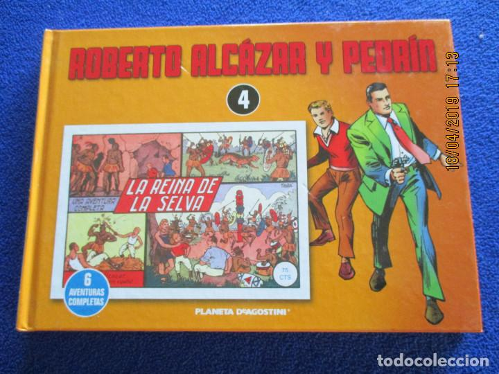 Libros de segunda mano: ROBERTO ALCÁZAR Y PEDRIN 4 Tomos Editorial Planeta DeAgostini 2010 - Foto 15 - 160680054