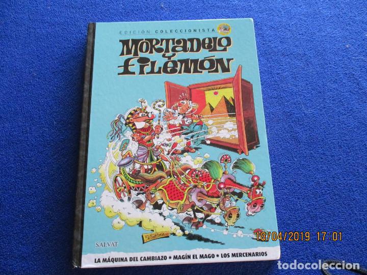 MORTADELO Y FILEMON EDICION COLECCIONISTA TOMO 1 EDICIONES SALVAT 2011 (Libros de Segunda Mano - Literatura Infantil y Juvenil - Cuentos)
