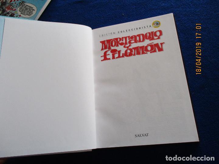 Libros de segunda mano: MORTADELO Y FILEMON Edicion Coleccionista Tomo 1 Ediciones Salvat 2011 - Foto 3 - 160723790