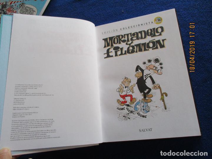 Libros de segunda mano: MORTADELO Y FILEMON Edicion Coleccionista Tomo 1 Ediciones Salvat 2011 - Foto 4 - 160723790