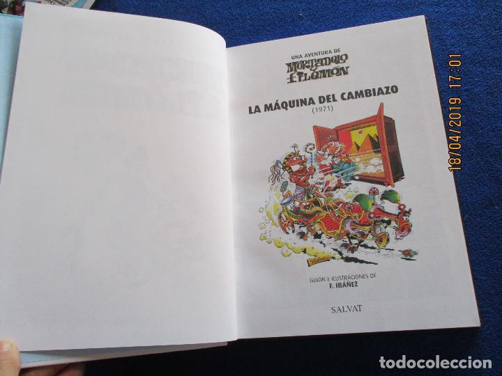 Libros de segunda mano: MORTADELO Y FILEMON Edicion Coleccionista Tomo 1 Ediciones Salvat 2011 - Foto 5 - 160723790