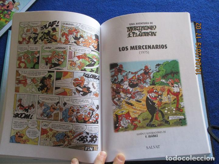 Libros de segunda mano: MORTADELO Y FILEMON Edicion Coleccionista Tomo 1 Ediciones Salvat 2011 - Foto 9 - 160723790