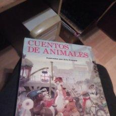 Libros de segunda mano: CUENTOS DE ANIMALES. ERIC KINCAID. EVEREST. AÑO 1989 136 PP, 27,5X22,5 CM. . Lote 160879142
