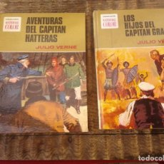 Libros de segunda mano - Colección Historias Color N° 4 y 11 serie Julio Verne - 160920302