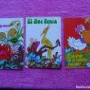 Libros de segunda mano: CUENTOS TROQUELADOS EDICIONES ALONSO 1983 LOTE DE 3 CUENTOS. Lote 161137410