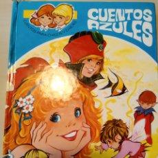 Libros de segunda mano: CUENTOS AZULES. TOMO 1. ILUSTRACIONES MARÍA PASCUAL. CUENTOS PARA CHICOS Y CHICAS. EDICIONES TORAY.. Lote 161139072