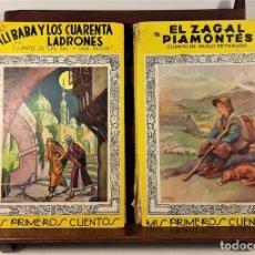 Libros de segunda mano: MIS PRIMEROS CUENTOS. 2 EJEMPLARES. EDIT. MOLINO. BARCELONA. 1941/1950.. Lote 161243090