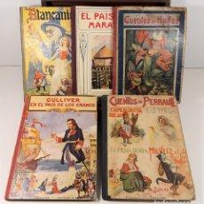 Libros de segunda mano: EDITORIAL RAMÓN SOPENA. 5 TOMOS. VARIOS AUTORES. BARCELONA. 1941/42.. Lote 161314978