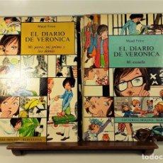 Libros de segunda mano: EL DIARIO DE VERONICA. 2 EJEMPLARES. MAUD FRÈRE. EDIT. MOLINO. BARCELONA. 1967.. Lote 161366950