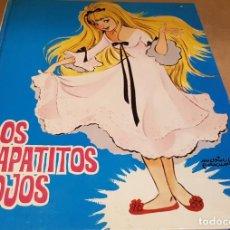 Libros de segunda mano: LOS ZAPATITOS ROJOS / LA NIÑA DEL CÁNTARO / MARÍA PASCUAL / CUENTOS CLÁSICOS TORAY-1965. Lote 161494678