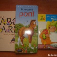 Libros de segunda mano: LOTE 3LIBROS INFANTILES, TAPA DURA, MUY BUEN ESTADO, MUY BUEN ESTADO. Lote 162097586