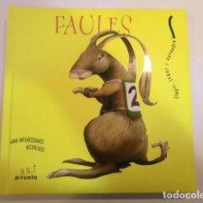 Libros de segunda mano: FAULES CLASSIQUES VOL. AMARILLO - LLEGIR JUGAR I APRENDRE - 4 FABULAS - CATALAN - ED. PIRUETA. Lote 162408410