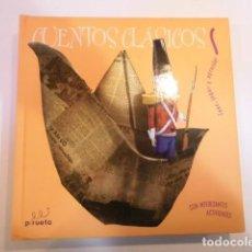 Libros de segunda mano: CUENTOS CLASICOS VOL. NARANJA - LEER, JUGAR Y APRENDER - 5 CUENTOS - CASTELLANO - ED. PIRUETA. Lote 162409014
