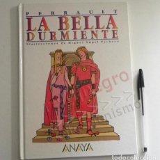 Libros de segunda mano: LA BELLA DURMIENTE - LIBRO CUENTO - PRECIOSAS ILUSTRACIONES DE M A PACHECO - CLÁSICO PERRAULT ANAYA. Lote 162838454