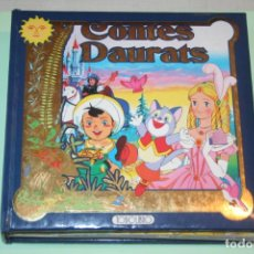 Libros de segunda mano: CONTES DAURATS *** LIBRO CUENTO ILUSTRADO INFANTIL EN CATALÁN *** TODOLIBRO. Lote 162930846