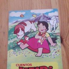 Libros de segunda mano: CUENTOS HEIDI EL EDELWEISS. Lote 163325188