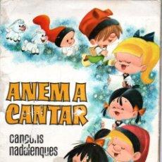 Libros de segunda mano: LA FAMILIA TELERIN ANEM A CANTAR EN CATALÀ (BRUGUERA, 1965). Lote 163450998