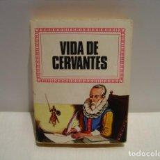 Libros de segunda mano: VIDA DE CERVANTES - JEAN MEUNIER - HISTORIAS INFANTIL BRUGUERA - 1972 1ª EDICIÓN. Lote 163506846