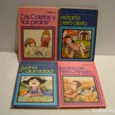 Libros de segunda mano: LOTE DE CUATRO MINILIBROS ESCO - 1979. Lote 163508298