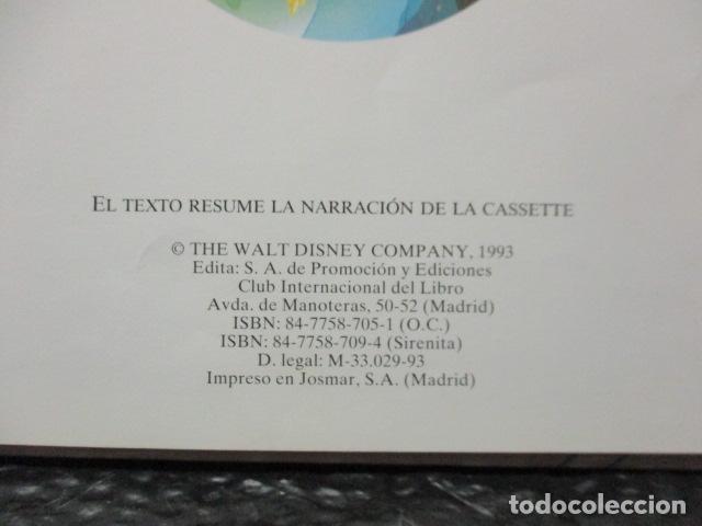Libros de segunda mano: LA SIRENITA - DISNEY - Foto 4 - 263100510