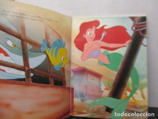 Libros de segunda mano: LA SIRENITA - DISNEY - Foto 5 - 263100510