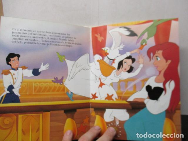 Libros de segunda mano: LA SIRENITA - DISNEY - Foto 6 - 263100510
