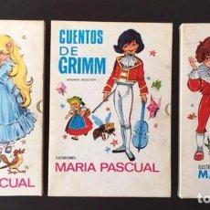 Libros de segunda mano: CUENTOS DE GRIMM 3 I 7, NUEVOS CUENTOS DE GRIMM 11. ILUSTRACIONES: MARÍA PASCUAL. Lote 163578102