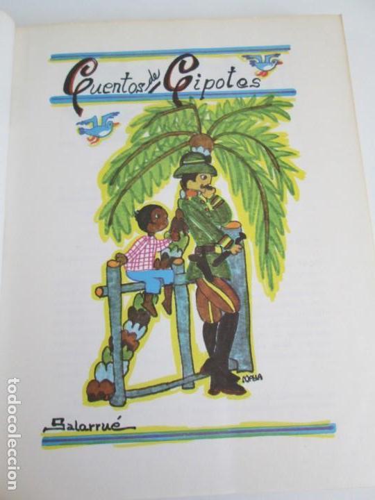 Libros de segunda mano: CUENTOS DE CIPOTES. SALARRUE. MINISTERIO DE EDUCACION DIRECCION DE PUBLICACIONES 1976 - Foto 8 - 163615430
