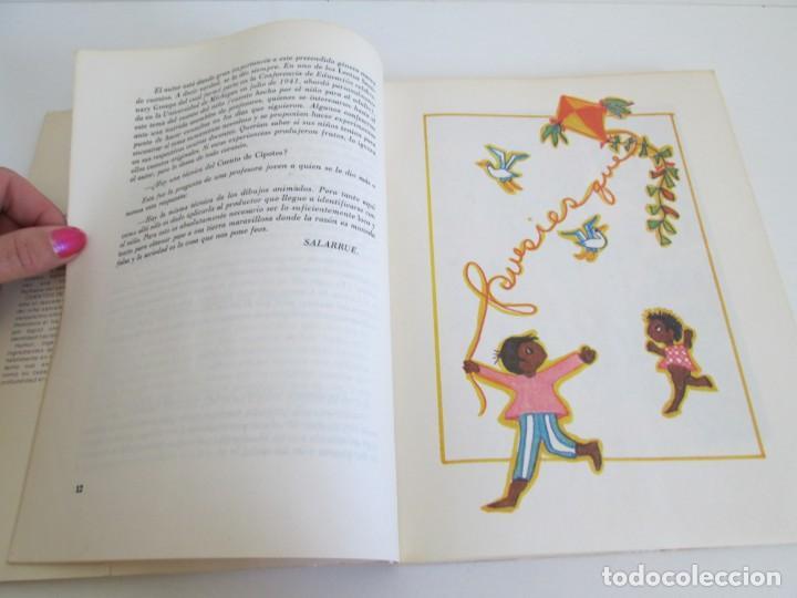 Libros de segunda mano: CUENTOS DE CIPOTES. SALARRUE. MINISTERIO DE EDUCACION DIRECCION DE PUBLICACIONES 1976 - Foto 9 - 163615430