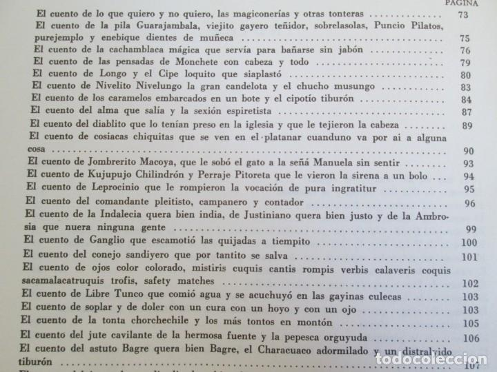 Libros de segunda mano: CUENTOS DE CIPOTES. SALARRUE. MINISTERIO DE EDUCACION DIRECCION DE PUBLICACIONES 1976 - Foto 16 - 163615430