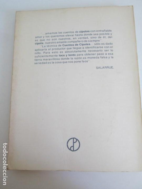 Libros de segunda mano: CUENTOS DE CIPOTES. SALARRUE. MINISTERIO DE EDUCACION DIRECCION DE PUBLICACIONES 1976 - Foto 21 - 163615430