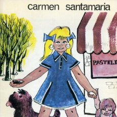 Libros de segunda mano: MIRZA. CARMEN SANTAMARÍA E ILUSTRACIONES DE VILARCHAO. DONCEL. C.P.J. Nº 23. 1966. Lote 164110874
