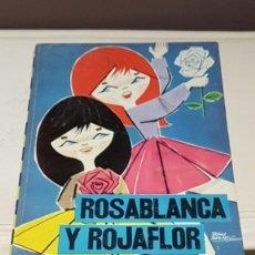 Libros de segunda mano: ROSABLANCA Y ROJAFLOR, EDITORIAL MOLINO 1961, Nº20 DE LA COLECCION ILUSION INFANTIL, TAL CUAL SE VE.. Lote 164814646