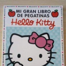 Libros de segunda mano: MI GRAN LIBRO DE PEGATINAS HELLO KITTY MÁS DE 1000 PEGATINAS Y MUCHAS ACTIVIDADES. RBA MOLINO. Lote 164826898