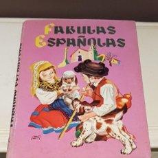 Libros de segunda mano: FABULAS ESPAÑOLAS, EDITORIAL MOLINO 1956, TAL CUAL SE VE.. Lote 164828202