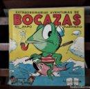 Libros de segunda mano: EXTRAORDINARIAS AVENTURAS DE BOCAZAS EL SAPO MARINERO. EDIT. BRUGUERA. S. XX.. Lote 165191638
