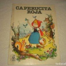 Libros de segunda mano: LOS CUENTOS DE LA ABUELITA. CAPERUCITA ROJA.. Lote 165303626