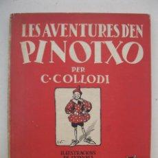 Libros de segunda mano: LES AVENTURES D'EN PINOTXO - C. COLLODI - J. VINYALS - EN CATALÁN - EDITORIAL JOVENTUT - AÑO 1981.. Lote 165343410