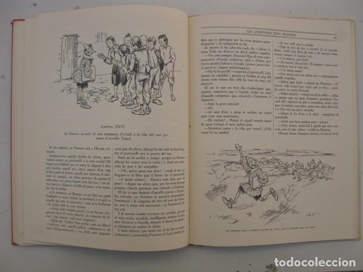 Libros de segunda mano: LES AVENTURES D'EN PINOTXO - C. COLLODI - J. VINYALS - EN CATALÁN - EDITORIAL JOVENTUT - AÑO 1981. - Foto 3 - 165343410