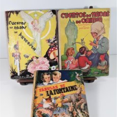 Libros de segunda mano: EDITORIAL MOLINO. 3 EJEMPLARES. VARIOS AUTORES. BARCELONA. 1939/1942.. Lote 165569014