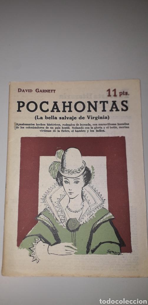 POCAHONTAS 1958 (Libros de Segunda Mano - Literatura Infantil y Juvenil - Cuentos)