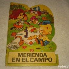 Libros de segunda mano: MERIENDA EN EL CAMPO, TROQUELADOS AUTO ESCUELA , 1971. Lote 165863418