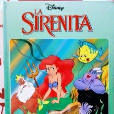 Libros de segunda mano: LA SIRENITA DISNEY BEASCOA 1993 LIBRO POP UP CON MOVIMIENTO. Lote 195063335