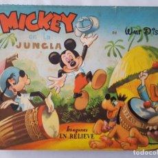 Libros de segunda mano: MICKEY EN LA JUNGLA / EDITORIAL VILCAR 1957 / WALT DISNEY. Lote 166666294