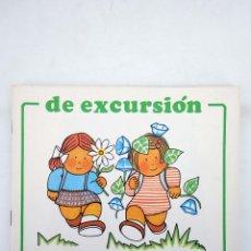 Libros de segunda mano: COLECCIÓN TINA TON 4. DE EXCURSIÓN (PÍA VILARRUBIAS) JUVENTUD, 1985. OFRT. Lote 167135640