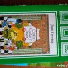 Libros de segunda mano: CONTAR CANTAR Y JUGAR - CERVERA BORRAS JUAN. Lote 167756272