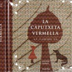 Libros de segunda mano: LOUISE ROWE : LA CAPUTXETA VERMELLA POP UP (ESTRELLA POLAR, 2009) CAPERUCITA. Lote 167823732