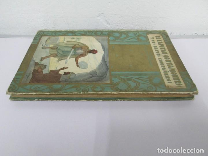 Libros de segunda mano: EL CAPITAN CORTAMONTES Y SUS BRAVOS COMPAÑEROS. EDICION SATURNINO CALLEJA - Foto 4 - 167912484